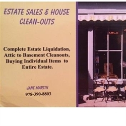 Jane Martin Estate Sales Logo