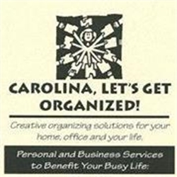 Carolina, Let's Get Organized Logo