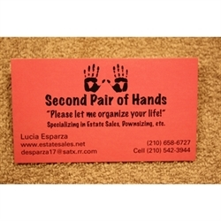 Second Pair Of Hands Logo