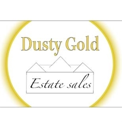 Dusty Gold Estate Sales Logo