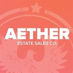 Aether Estate Sales Co. Logo