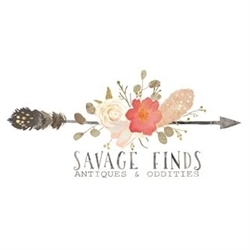 Savage Finds Antiques & Oddities Logo