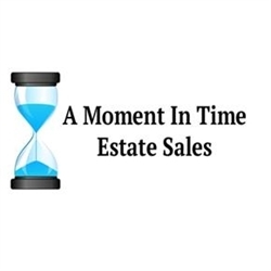 A Moment In Time Estate Sales Logo