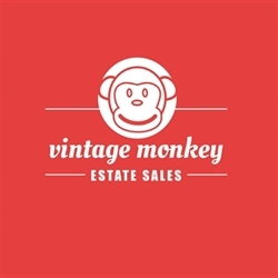 Vintage Monkey Estate Sales Logo