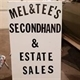Mel & Tee's Estate Sales Logo