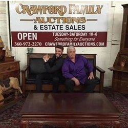 Crawford Family Auctions LLC Logo