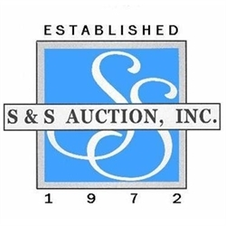 S & S Auction Logo