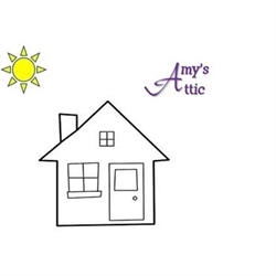 An Amy's Attic Estate Sale Logo