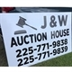 J&w Auction House Logo