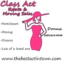 Class Act Estate and Moving Sales Logo