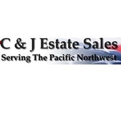 C&J Estate sales Logo