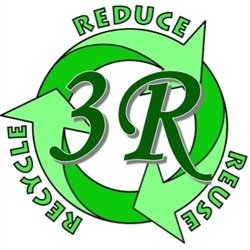 Three R Antiques & Clean Out Logo