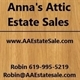 Anna's Attic Estate Sales Logo