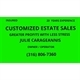 Customized Estate Sales Logo