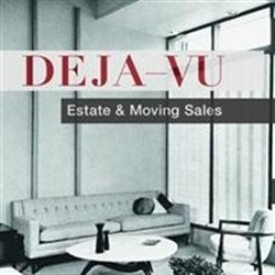 DEJA-VU Estate Sales Logo