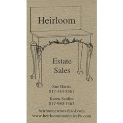 Heirloom Estate Sales Logo