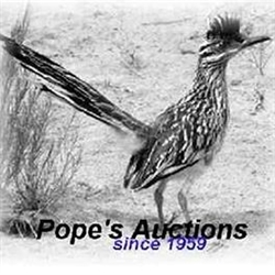 Pope's Auctions Logo