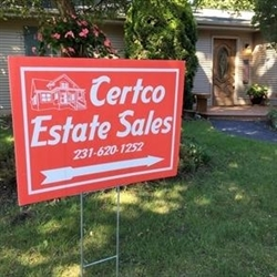 Certco Estate Sales of Traverse City Logo