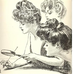 The Gibson Girls Logo