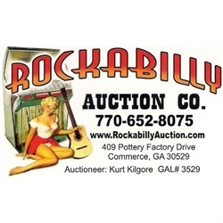 Rockabilly Auction Company and Estate Sales Logo