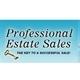 Professional Estate Sales LLC Logo