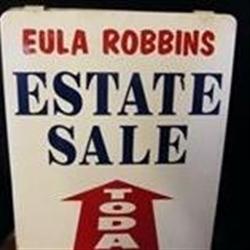 Eula Robbins Estate Sales Logo