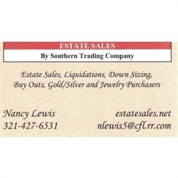 Estate Sales by Southern Trading Company Logo