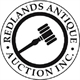 Redlands Antique Auction Logo