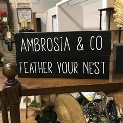Ambrosia & Co. Logo