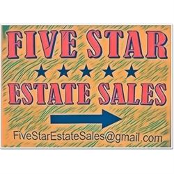 Five Star Estate Sales Logo