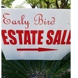 Early Bird Estate Sales Co. Logo