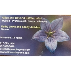 Attics and Beyond Estate Sales Logo
