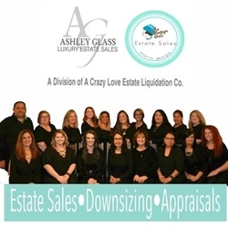 Ashley Glass Luxury Estate Sales A Division of A Crazy Love Estate Sales Logo
