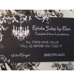 Estate Sales by ELAN Logo