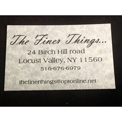 Finer Things... Logo