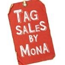 Tag Sales By Mona /junkbuster Logo