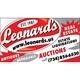 Leonard's Auction Service Logo