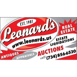 Leonard's Auction Service Logo